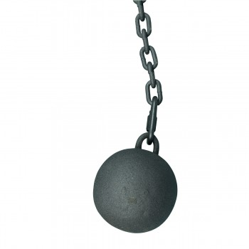 <PRE>Gate Latch Cast Iron Cannonball and 5 Feet Chain </PRE>zoom7