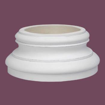 <PRE>Column White Urethane Base 360 Degree </PRE>zoom2