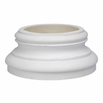 Column White Urethane Base 360 Degree 19758grid