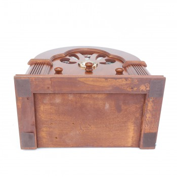 <PRE>Radios Natural Oak Church Battery Operated 12.5inchH </PRE>zoom5
