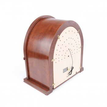 <PRE>Radios Natural Oak Church Battery Operated 12.5inchH </PRE>zoom7