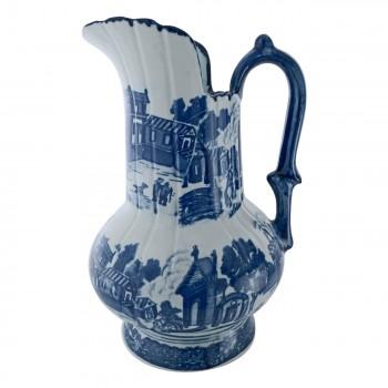 <PRE>Chamber Pot Set Delft Blue Ceramic Chamber Pot and Pitcher </PRE>zoom6