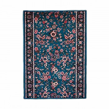 <PRE>Runner Area Rug 26'' Wide, Sold by Foot Blue Wool </PRE>zoom1