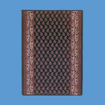 spec-<PRE>Runner Area Rug 2' 2&quot; Wide, Sold by Foot Blue Wool </PRE>