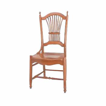 Sheaf Antique Beechwood Sheaf Back Side Chair Beechwood Antique Finish198812grid