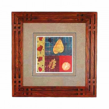 Wall Art Stawberry Collage Print Framed 29