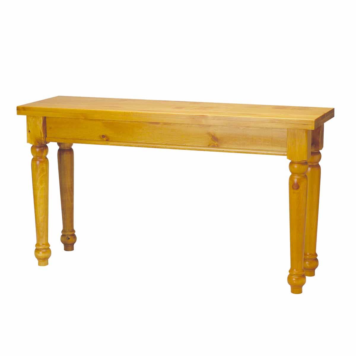 Sofa Table Heirloom Pine Wentworth 28 H X 52 W