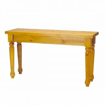 <PRE>Sofa Tables Narrow Heirloom Pine Wentworth 28inchH x 52&quot;W</PRE>zoom1