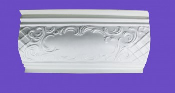 <PRE>Cornice White Urethane Sample of 19969 </PRE>zoom9