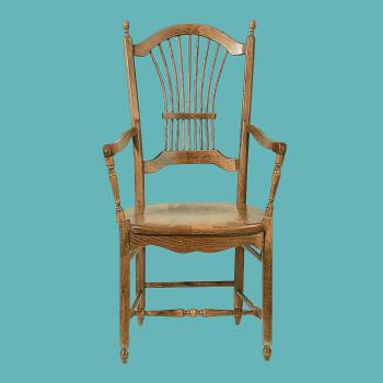 <PRE>Sheaf Heirloom Solid Beechwood Sheaf Back Armchair Beechwood Heirloom </PRE>zoom2