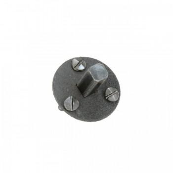 Steel Doorknob Dummy Spindle 138 Vintage Style Door Knob Dummy Spindle Dummy Spindle For Door Knob Dummy Spindle Knob