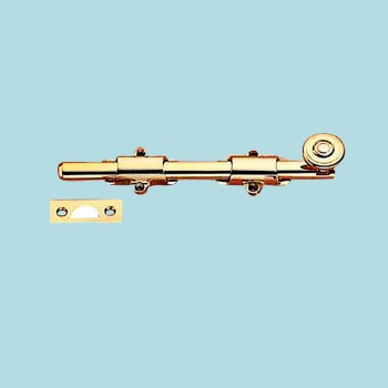 <PRE>24inch Traditional Style Surface Door Bolt Heavy Solid Brass </PRE>zoom2