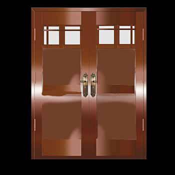 Security Door Copper Steel Security Door Copper over Steel20327grid