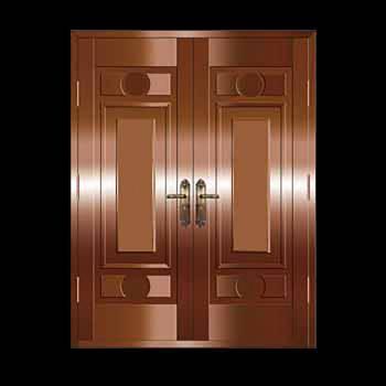 Security Door Copper Steel Security Door Copper over Steel20329grid