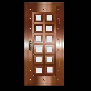 Security Door Copper Steel Security Door Copper over Steel20331grid