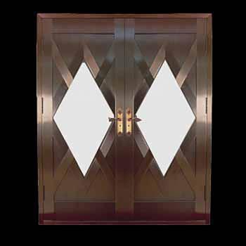 Security Door Copper Steel Security Door Copper over Steel20334grid