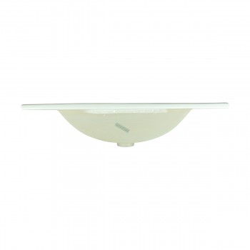 <PRE>Bathroom Drop-in Self-Rimming Square White Porcelain Sink Single Faucet Hole</PRE>zoom3