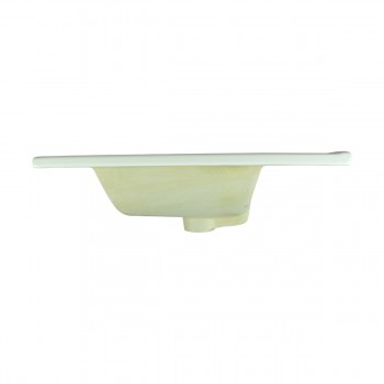 <PRE>Bathroom Drop-in Self-Rimming Square White Porcelain Sink Single Faucet Hole</PRE>zoom6