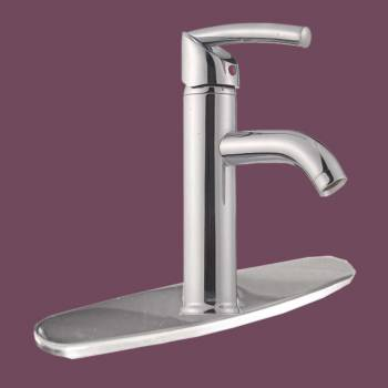 spec-<PRE>Chrome Single Hole Bathroom Sink Faucet Widespread Plate </PRE>