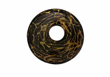 Replacement Waterfall Faucet Glass Disc Plate Hand Painted