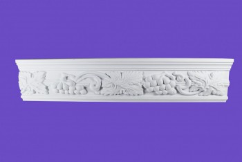 <PRE>Cornice White Urethane 19.5inch Sample of 20406 </PRE>zoom9