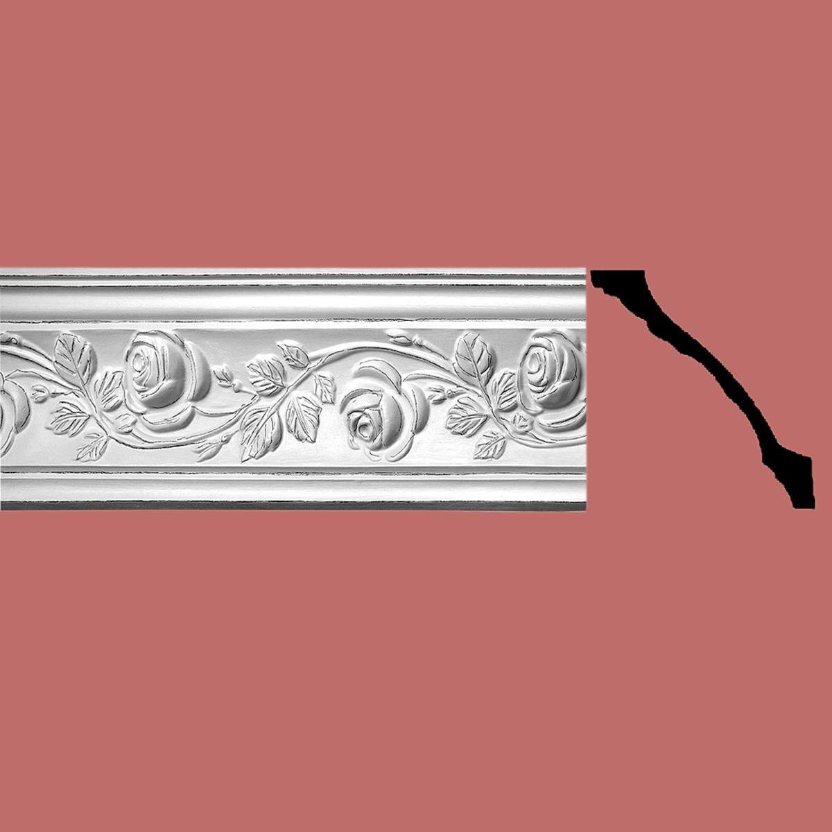 Cornice White Urethane Sample of 20420 Cornice Cornice Moulding Cornice Molding