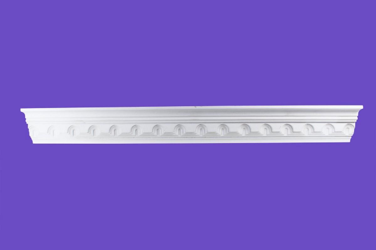 Cornice White Urethane Sample of 20421 19 Long Cornice Cornice Moulding Cornice Molding