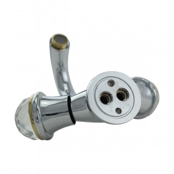 <PRE>Single Hole Bathroom Sink Faucet Chrome Widespread Plate </PRE>zoom9