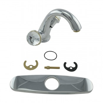 <PRE>Single Hole Bathroom Sink Faucet Chrome Widespread Plate </PRE>zoom15