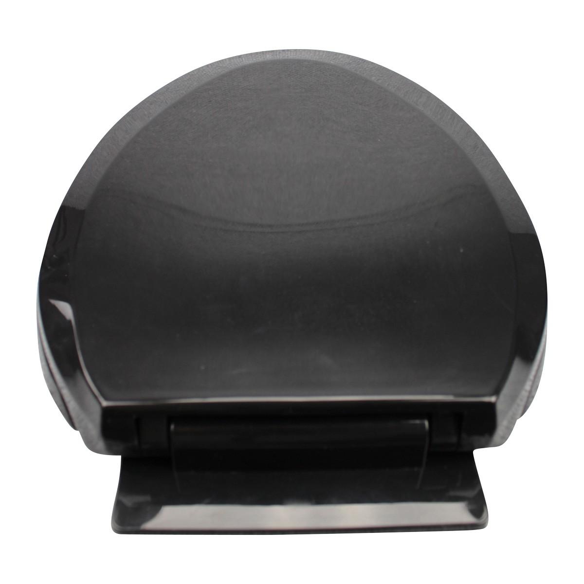 No Slam Slow Close Plastic Elongated Toilet Seat in Black Renovators Supply Slow Soft Close Closing No Slam Heavy Duty Modern Black Elongated Toilet Seat