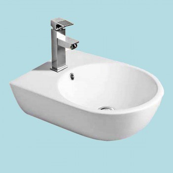 <PRE>Small Wall Mount Bathroom Sink Above Counter Vessel White </PRE>