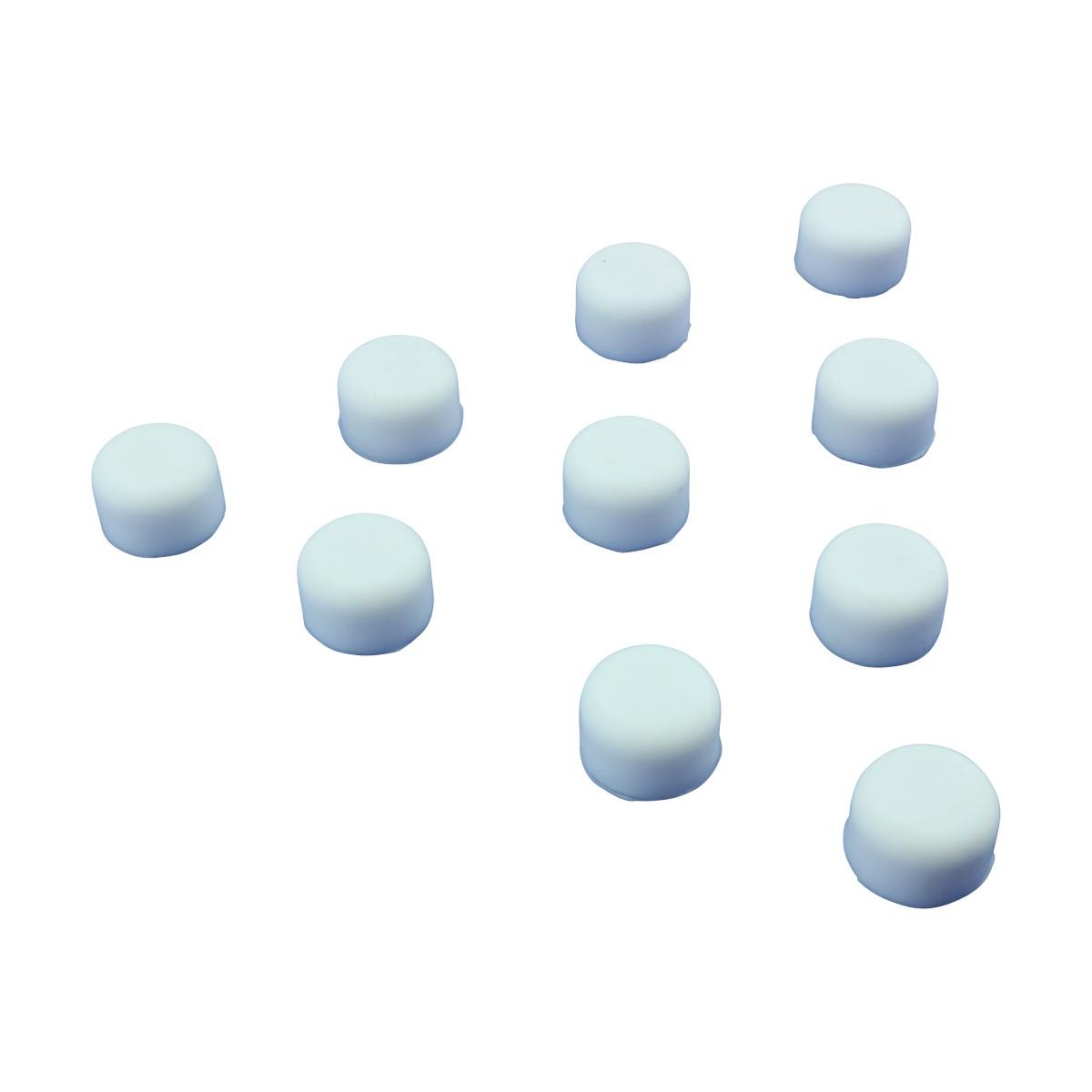 U003cPREu003ePremium Silicone White Door Stopper Tips 1/4inch Inner Dia.