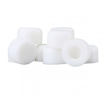 Premium Silicone White Door Stopper Tips 14 Inner Diameter 10 Count Bag Wall Spring Floor Hinge