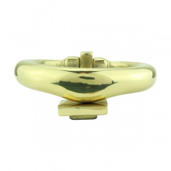 <PRE>Solid Brass Ring Door Knocker 4 1/2 inch. H x 4 inch. W</PRE>zoom8