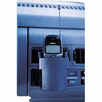 Car Cell phone Holder Black Vinyl 20566grid