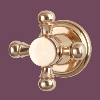 <PRE>Vintage Cabinet Knob Solid Brass Faucet Style </PRE>zoom2