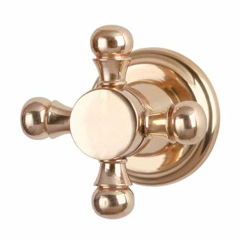 Vintage Cabinet Knob Solid Brass Faucet Style 20593grid