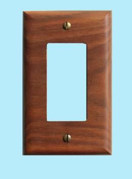 <PRE>Switchplate Walnut GFI </PRE>zoom2