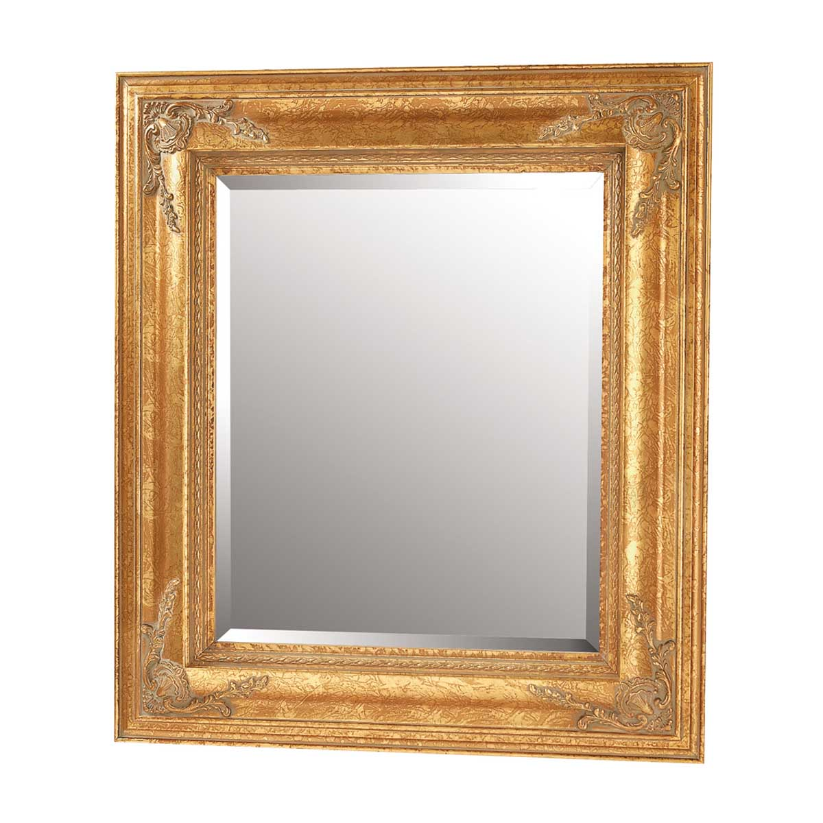 Antique Gold Gilded Frame Mirror 34\