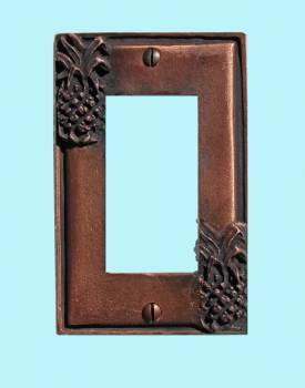 <PRE>Switchplate Antique Copper Light Switch Pineapple GFI </PRE>zoom2