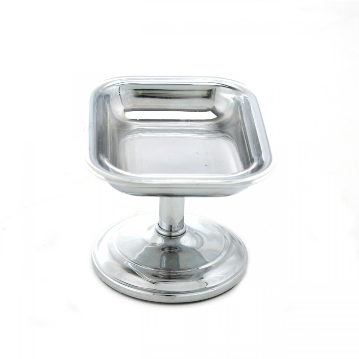 Freestanding Vintage Soap Dish Chrome Solid Brass Tray Bathroom Chrome Bar Soap Dish Tray Freestanding Portable Pedestal Soap Dish Antique Vintage Colonial Elegant Soap Dish Tray