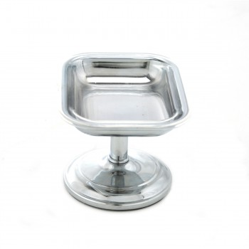<PRE>Freestanding Vintage Soap Dish Chrome Solid Brass Tray </PRE>zoom3