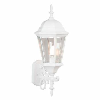 Outdoor Lighting White Aluminum 25