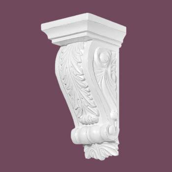 <PRE>Victorian Wall Fireplace Corbel White Urethane Vintage </PRE>