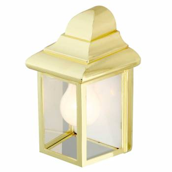 Outdoor Lighting Bright Brass Light 20816grid