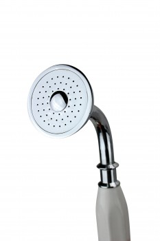 <PRE>Renovator's Supply Clawfoot Tub Goose Neck Faucet and Hand Held Shower Head</PRE>zoom4