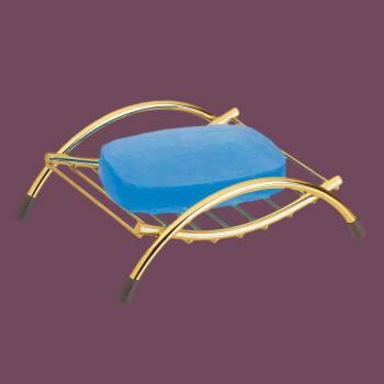 <PRE>Unique Solid Brass Soap Dish Sponge Holder Beach Chair </PRE>