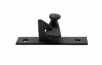 <PRE>Cabinet Catch Black Wrought Iron .375in Offset 2.5in W </PRE>zoom5