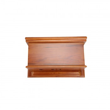 <PRE>Mahogany Flat High Tank Pull Chain Water Closet With Elongated Toilet Bowl</PRE>zoom12