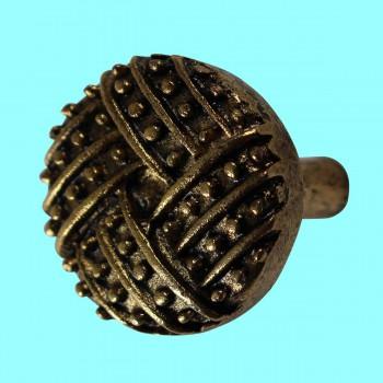 <PRE>Vintage Cabinet Knob Antique Solid Brass 1 1/4inch Dia </PRE>zoom2